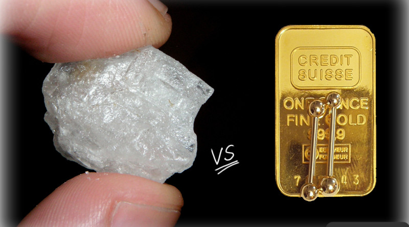 Today, an ounce of meth costs nearly 10 times as much as an ounce of gold thumbnail