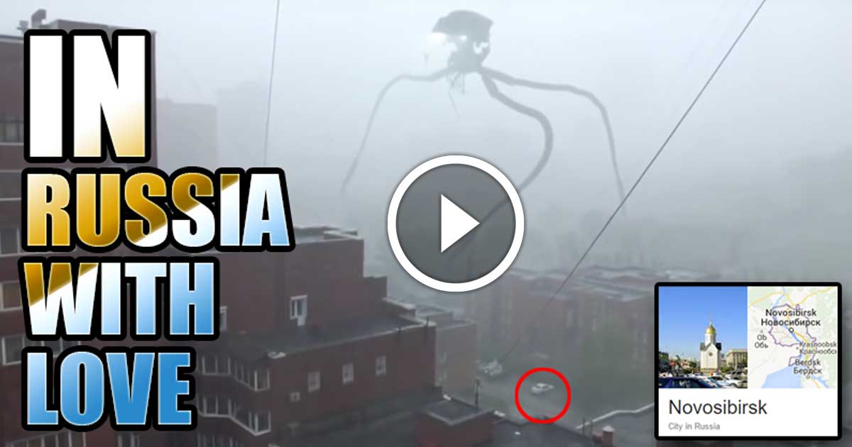 Alien Invasion Tripod Attacks Russian City