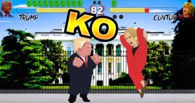 Hilarious-Trump-vs-Clinton-Street-Fighter-Animation-thumbnail