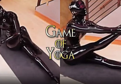 You Won't Believe Sexy Latex Yoga IS The New Hot Trend